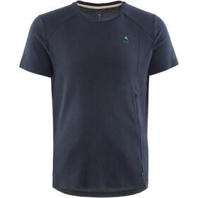 Klättermusen Vee - Camiseta manga corta Hombre - azul